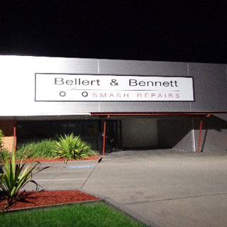 Bellert and Bennett - most trusted Smash repairer on the South Coast.
